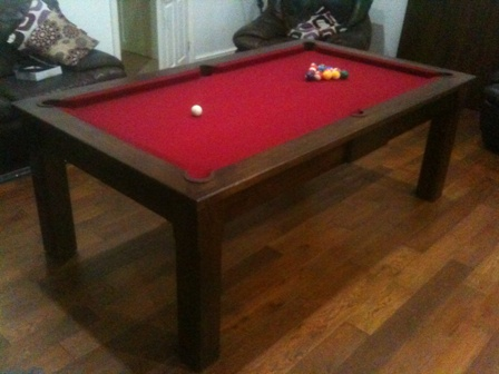 jacobean oak pool table (like wenge)