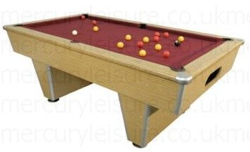 Pool Table UK From Mercury Leisure - Modern slate pool table