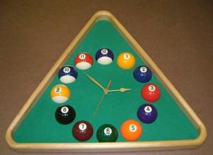 Fantastic Quality Beech Triangle Clock