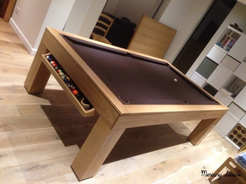 cube pool table- 8ft model shown here