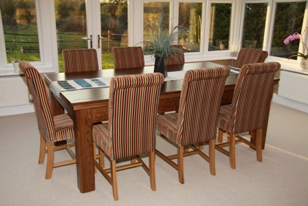 shown here as a dining table