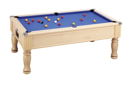 monarch pool table beech finish