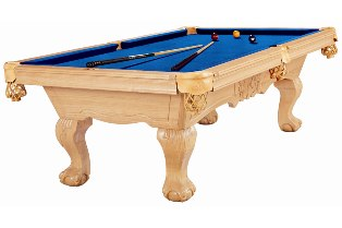 Slate Bed Pool Table New Pool Table - Claw foot pool table