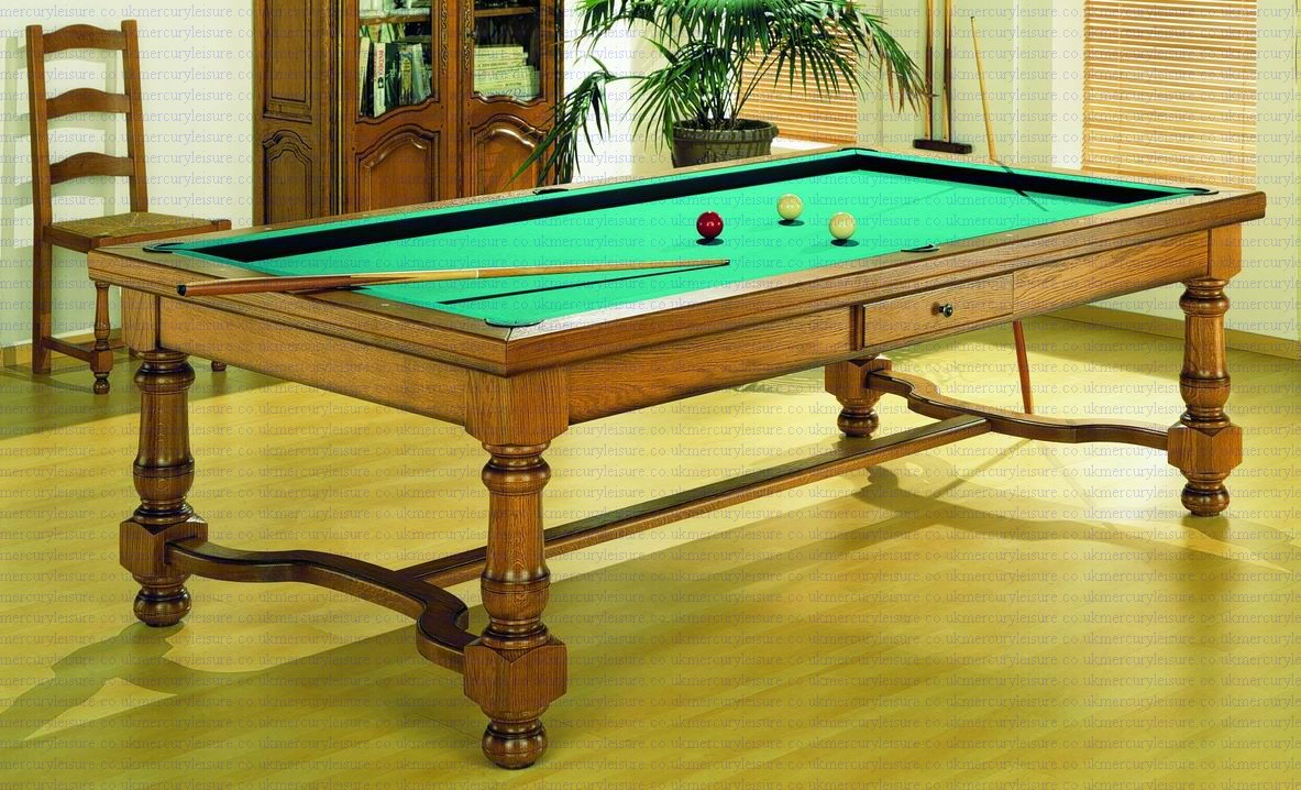 Pool table and dining