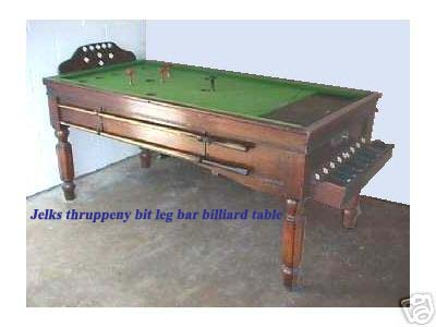 jelques bar billiard table