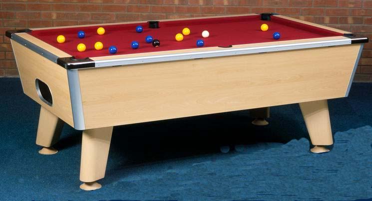 Pool Table UK From Mercury Leisure - British pool table