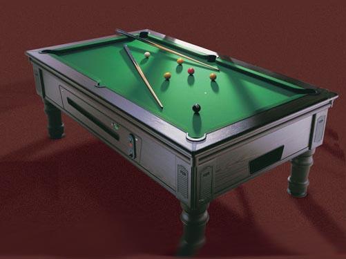 Uk Slate Bed Traditional Pool Table