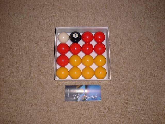 red n yellow balls