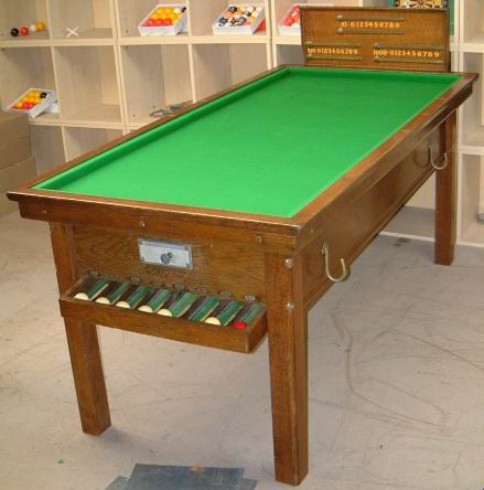 Antique bar billiard table and new bar billiards spares mushrooms antique bar billiard table and new bar billiards spares mushrooms skittles balls etc from uk watchthetrailerfo