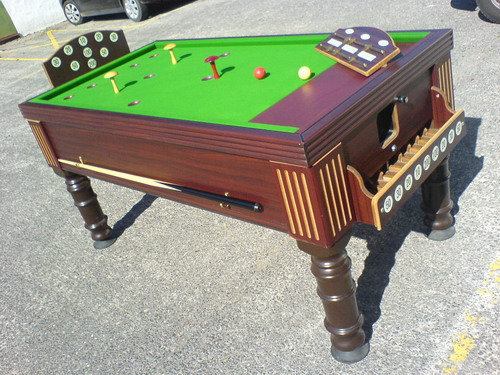 Antique bar billiard table and new bar billiards spares mushrooms refurbished supreme bar billiards watchthetrailerfo