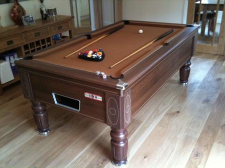 Charmant Supreme Prince Pool Table With Tan Cloth Option