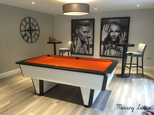 Mercury premier league pool table. the ultimate in style and playability