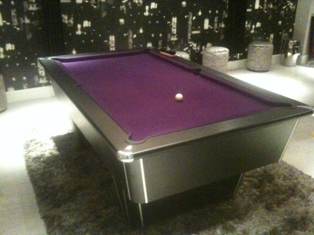 Pool Table UK Introducing The MERCURY PREMIER LEAGUE RANGE - Chrome pool table